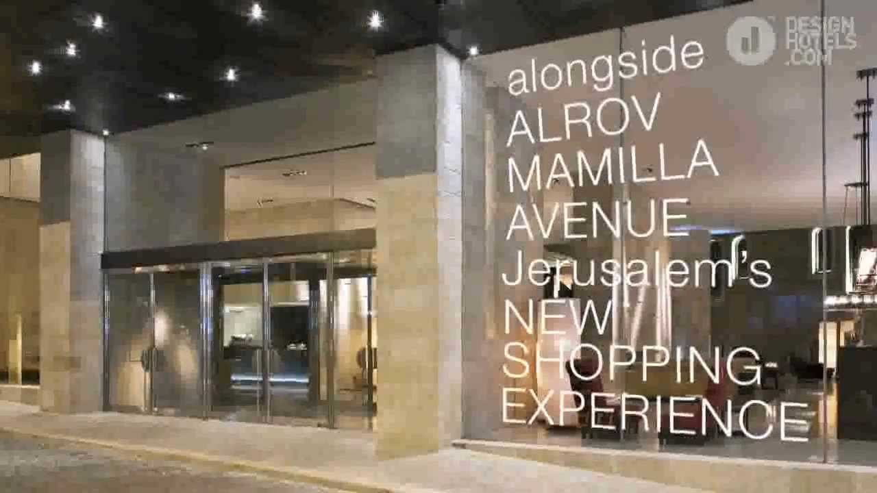 Mamilla hotel a new member of design hotels youtube for Youtube design hotels