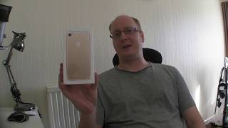 Iphone 7 Gold 256GB unboxing