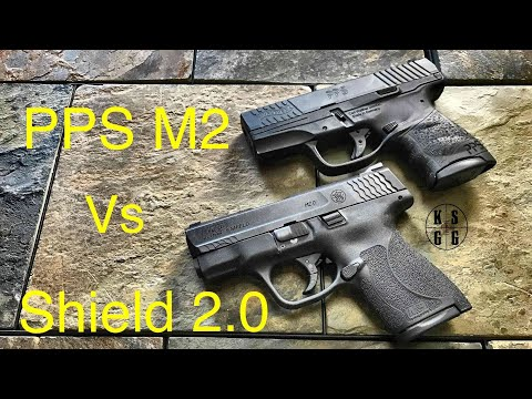 Smith and Wesson M&P Shield 2.0 vs Walther PPS M2 - If I Could Only Have One...