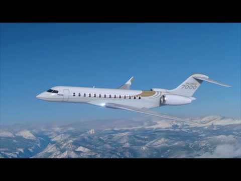 Global 7000 Aircraft Delivers Uncompromised Space and Privacy