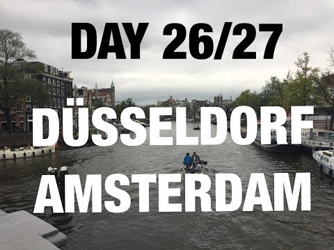 COME TRAVEL WITH ME -  DAY 26/27 - FROM DUSSELDORF TO AMSTERDAM