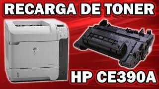 RECARGA │REFILL DE TONER HP CE390A