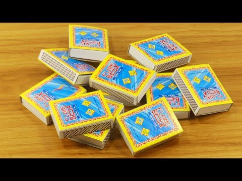 3 Amazing life Hacks with Waste Matchbox   Best out of waste   DIY Matchbox