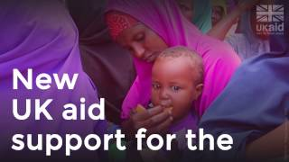 New UK aid support for the East Africa Crisis DEC Appeal