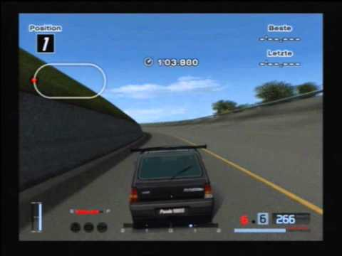 fiat panda 282 00 km h gran turismo 4 youtube. Black Bedroom Furniture Sets. Home Design Ideas