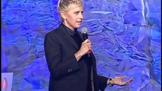Ellen DeGeneres Opens the 23rd Annual GLAAD Media Awards in Los Angeles #glaadawards