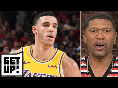 Jalen: Lonzo Ball 'doesn't fit' with Lakers' current dynamic | Get Up!