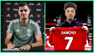 Top 10 MAN UNITED Transfer Targets Summer 2019 : Transfer News ft. Sancho & Coutinho