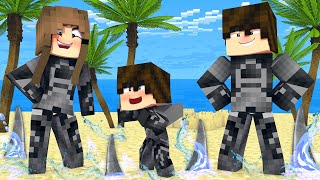 FAMÍLIA DO SHARK BOY NO MINECRAFT