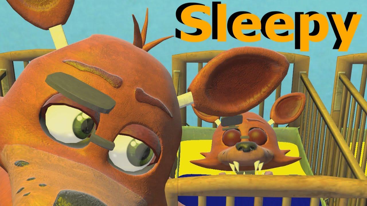 FNAF SFM Baby Foxy Too Sleepy YouTube