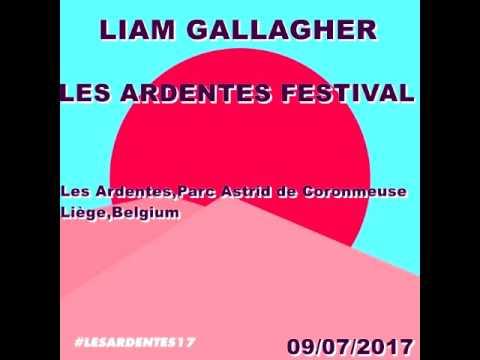 Liam Gallagher:Les Ardentes,Parc Astrid De Coronmeuse,Liège,Belgium (09/07/2017)