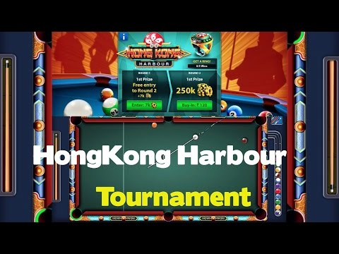 HONG KONG Tournament (Limited) 8 Ball Pool  + New HongKong Cue + Commentary