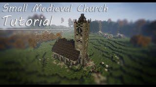 Minecraft: Small Medieval Church Tutorial YouTube