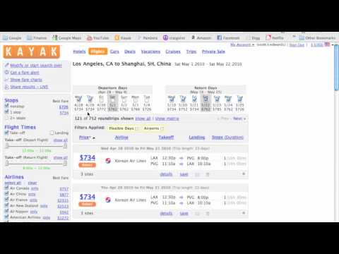 How to Find Cheap Flights Using Kayak.com – Part 1 of 3 in Finding Cheap Flights Series
