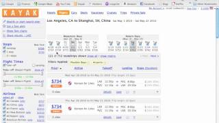 How to Find Cheap Flights Using Kayak.com - Part 1 of 3 in Finding Cheap Flights Series