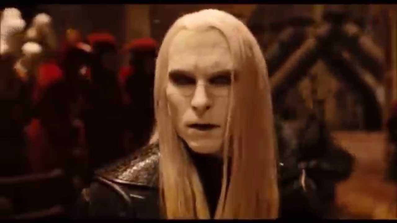 Hellboy 2 - Prince Nuada Kills His Father - YouTube Hellboy 2 Prince Nuada