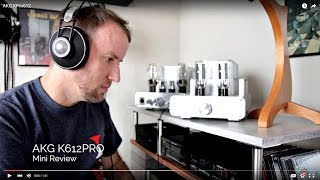 AKG K612 PRO (mini review)