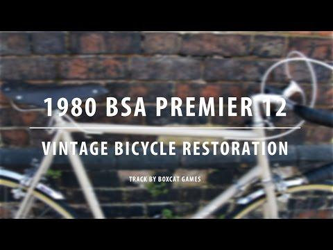 1980 BSA (Raleigh) Premier 12 - Vintage Bicycle Restoration