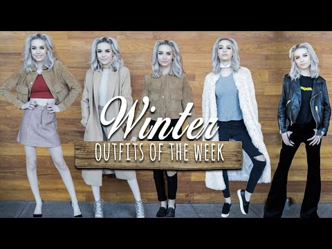 Winter Outfits of the Week! ♡