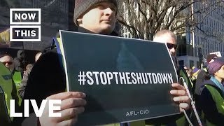 Government Workers Going Without Pay Protest Trump's Shutdown   NowThis