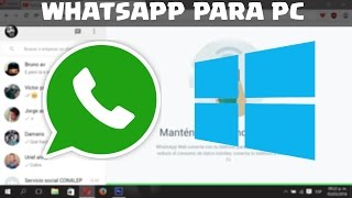 Whatsapp Para PC | Sin Bluestacks | Windows , Mac , Linux |2017