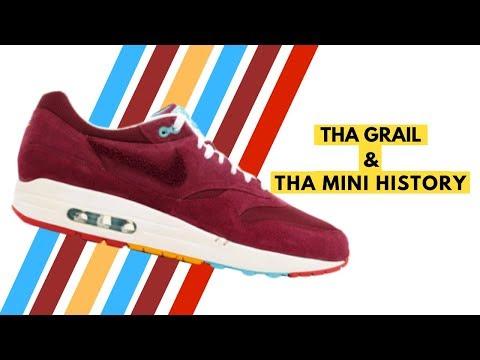 Parra X Patta X Nike Air Max 1 Cherrywood Mini History YouTube