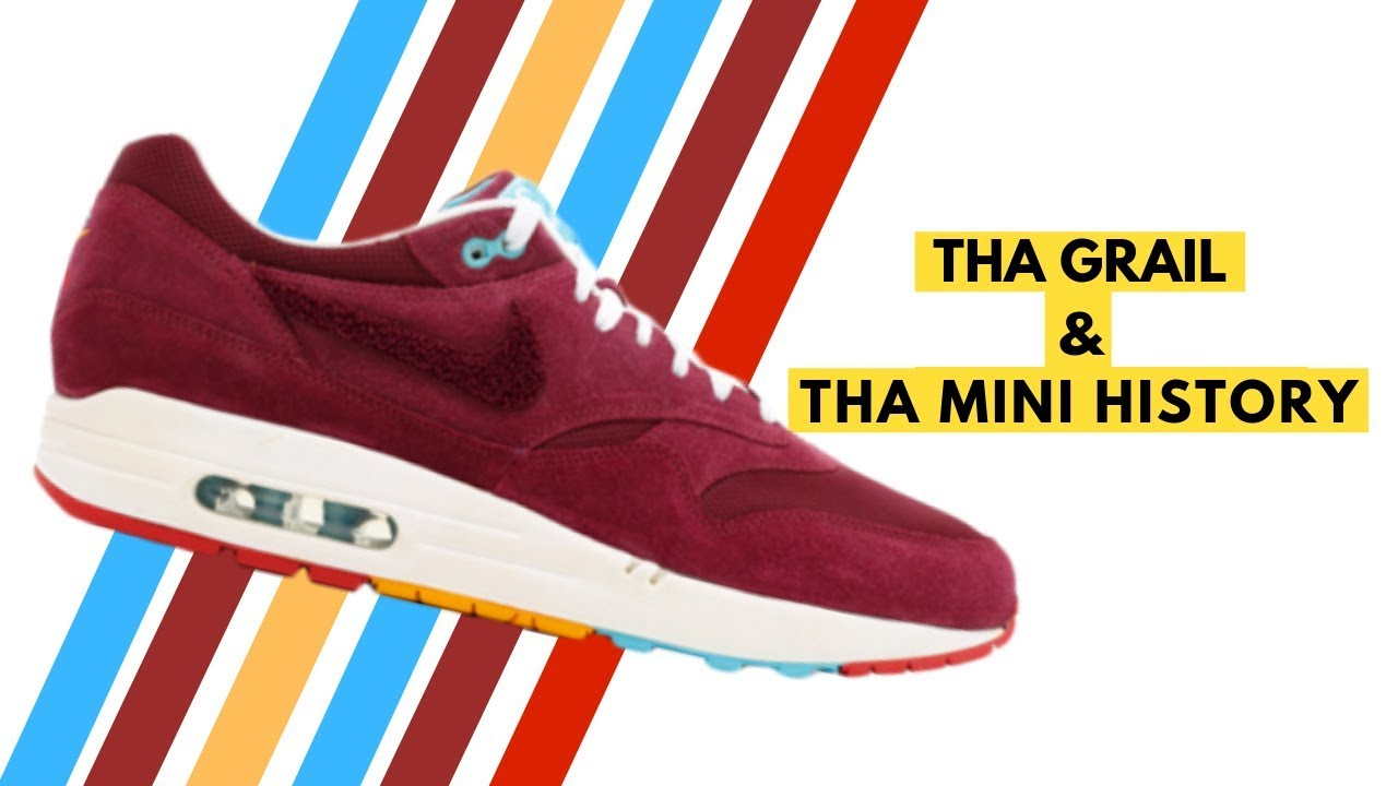 a4407d3543 Parra X Patta X Nike Air Max 1 Cherrywood Mini History - YouTube