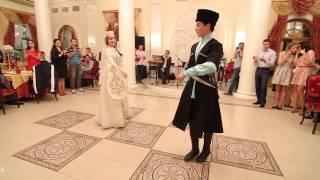 Кабардинский танец Кафа. Алина и Инал.