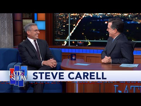 Steve Carell and Stephen Colbert Re-enact Their Sketch