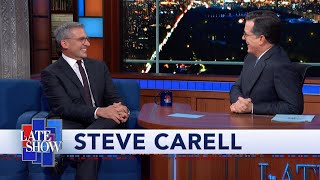 """Download Steve Carell and Stephen Colbert Re-enact Their Sketch """"Waiters Nauseated By Food"""" Mp3 and Videos"""