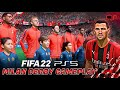 Fifa 22 Indonesia Next Gen Ps5 Gameplay Milan Derby Uefa Champions League Final