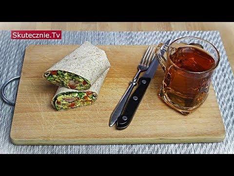 Szybkie śniadanie | Burrito z jajecznicą i warzywami :: Skutecznie.Tv [HD]