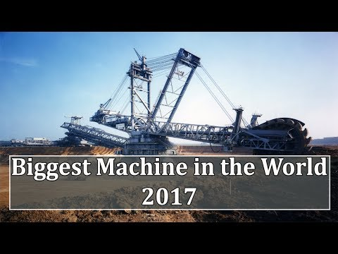 Top 7 Biggest and Largest Machines in the World 2017 || Extreme Machines in the World with Footage