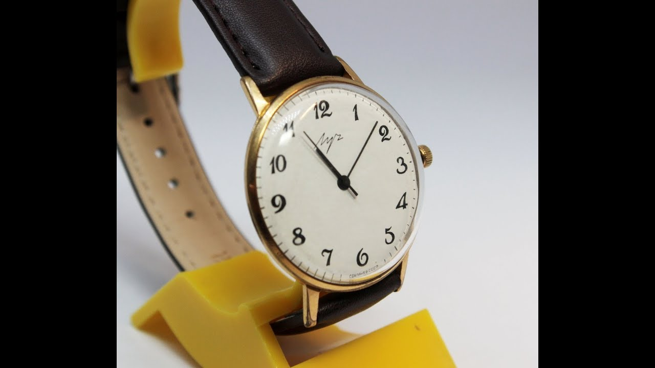5b8f1ba88ac6 Instructions for using mechanical Soviet watch Luch Deluxe Ultra Slim