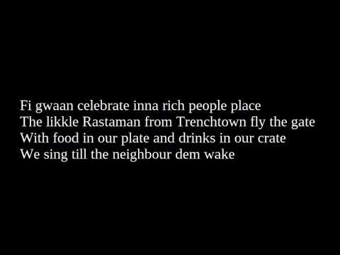 Damian Marley - Living It Up [Lyrics] [Stony Hill Album 2017]
