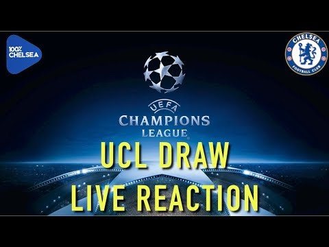 LIVE UEFA CHAMPIONS LEAGUE DRAW REACTION! || 100 PERCENT CHELSEA LIVE
