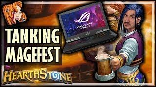 I Brought A TANK To Magefest - Rise of Shadows Hearthstone