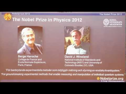 The 2012 Nobel Prize in Physics: Announcement and press conference