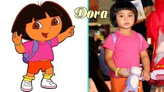 Dora the Explorer character in real life -  Misa Cartoons