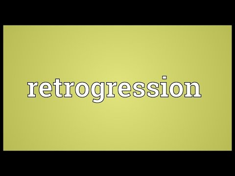 Header of retrogression