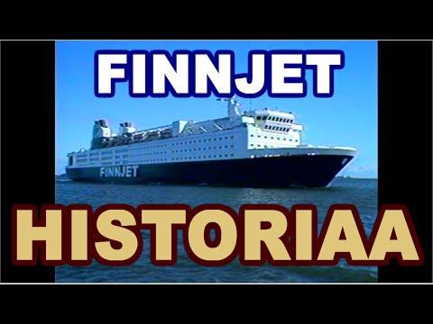 (HISTORIAA • HISTORY) GTS FINNJET (1984) matkustaja-/autolautta