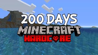 I Survived 200 Days in Hardcore Minecraft... Here's What Happened