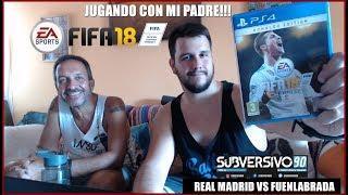 PREVIA REAL MADRID VS FUENLABRADA | COPA DEL REY | FIFA Y CHARLA CON MI PADRE!!