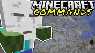 WITZIGE COMMANDS!   Minecraft Commands #1   ConCrafter