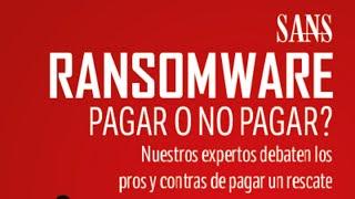 Ransomware: ¿se paga o no se paga? - Los expertos debaten
