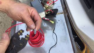 Installing an onboard air compressor to a Pickup Truck