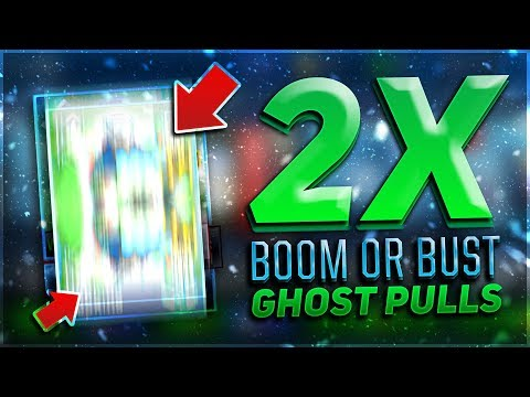 2x BOOM OR BUST 95 GHOST PULLS!! FREAKOUT REACTION! $6,000,000+ COINS!