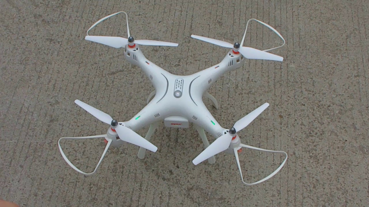 Syma X8 PRO GPS RC Quadcopter Drone First Flying