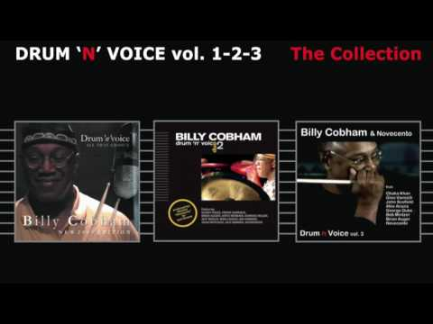 BILLY COBHAM - Drum 'n' voice  vol.1, vol.2, vol.3 ( THE COLLECTION ) 3 Full Album