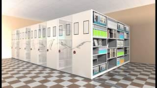 Стеллажи передвижные(Передвижные стеллажи экономят пространство архива более чем в два раза. Подробную информацию Вы можете..., 2013-03-29T09:41:59.000Z)